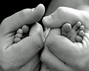 Finger Photos - Father and Son by Lisa  Phillips