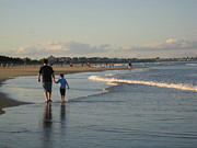 Atlantic Beaches Originals - Father and Son by Melissa McCrann