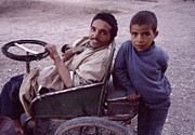 Moroccan Photos - Father And Son by Shaun Higson
