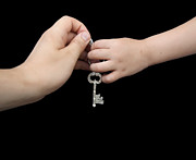 Owner Photo Originals - Father giving key to son by Deyan Georgiev