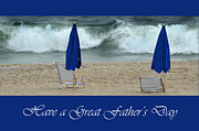 Father's Day Card Print by Randi Grace Nilsberg