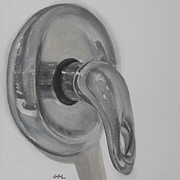 Jane See - Faucet handle