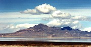 Salt Flats Digital Art - Faux Salt Flats Nevada 1 by Margaret Newcomb