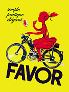 Favor Lipstick 1950 Print by Mark Rogan