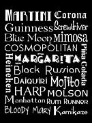 Favorite Drinks  Print by Jaime Friedman