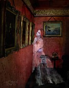Haunted  Digital Art Posters - Favorite Painting Poster by Tom Straub