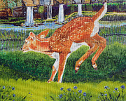 Sandra Wilson - Fawn in the holle