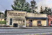 Fayette Feed Co Print by Dan Friend