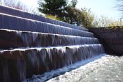 Cascade Prints - FDR Memorial - Washington DC - 01132 Print by DC Photographer