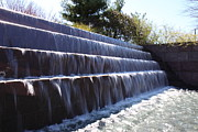 Benches Photo Prints - FDR Memorial - Washington DC - 01134 Print by DC Photographer