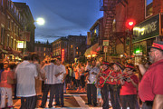 Feast Of Saint Anthony - Boston North End Print by Joann Vitali