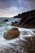 Maine Metal Prints - February Tides Metal Print by Patrick Downey