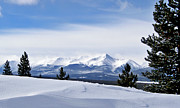 Mt Elbert Framed Prints - February Wind Framed Print by Jeremy Rhoades