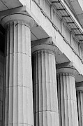 Greek Columns Digital Art - Federal Hall Columns by Jerry Fornarotto