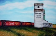Farming Originals - Federal Pacific Grain by Kristina Steinbring