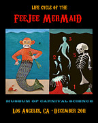 Sarah Stone - Fee Jee Mermaid Poster