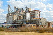 Feed Mill Framed Prints - Feed Mill HDR Framed Print by Charles Beeler