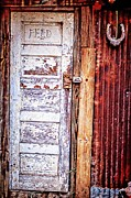 Kelly Kitchens - Feed Room Door