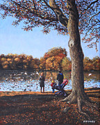 Martin Davey - Feeding the Ducks at...