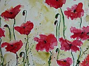 Isi Art - Feel the Summer - Poppies by Ismeta Gruenwald