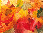 Guest Painting Prints - Feeling Fall Print by Irina Sztukowski