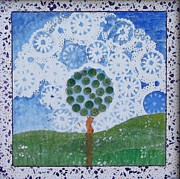 Doilies Prints - Feeling Free Print by Teresa Johnson