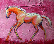 Foal Prints - Feeling Good Foal Print by Carol Jo Smidt