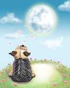 Feeling Love Print by Catia Cho