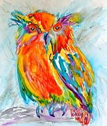 Feeling Owlright Print by Beverley Harper Tinsley