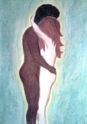 Nude Couple Pastels - Feelings by Jessica Dumas-Gault