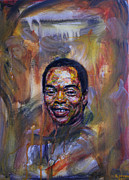 Edward Ofosu Framed Prints - Fela Kuti Framed Print by Edward Ofosu