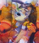 Female Climax Print by Stefan Kuhn