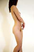 Buttock Prints - Female Nude Study Print by Julia Hiebaum