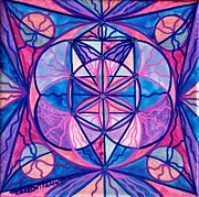 Sacred Feminine Paintings - Feminine Interconnectedness by Teal Eye  Print Store
