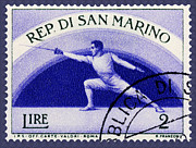 Phil Cardamone - Fencing on San Marino...