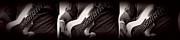 Fender Bass Print by Bob Orsillo