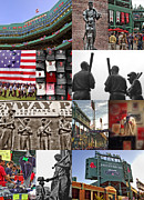 Sports Legends Posters - Fenway Memories Poster by Joann Vitali