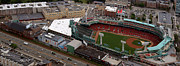 Fenway Photo Framed Prints - Fenway Panorama Framed Print by Joshua House