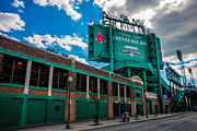 Boston Red Sox Posters - Fenway Park from Lansdowne Street Poster by Tom Gort