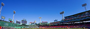 Baseball Photo Metal Prints - Fenway Park- Home of the Boston Red Sox Metal Print by Diane Diederich