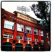 Yawkey Way Framed Prints - Fenway Park in October 2013 Framed Print by David Stone