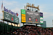 Boston Red Sox Framed Prints - Fenway Park One Framed Print by John Garbarino
