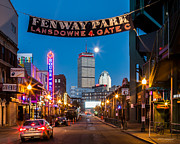 Yawkey Way Prints - Fenway Park Print by Paul Treseler