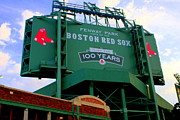 Boston Sox Prints - Fenway Park Two Print by John Garbarino