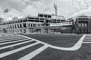Recreation Buildings Prints - Fenway Park V Print by Clarence Holmes