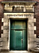 St Louis Posters - Fermenting Department Poster by Jane Linders
