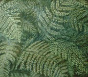 Frenzy Pastels - Fern Frenzy by Joann Renner