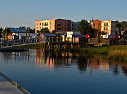 Fernandina Beach Framed Prints - Fernandina Beach Waterfront Framed Print by Scott Moore