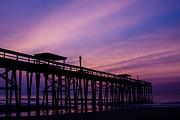 Fernandina Fishing Pier At Sunrise Print by Dawna  Moore Photography