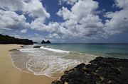 Atlantic Beaches Posters - Fernando De Noronha Island Brazil 2 Poster by Bob Christopher